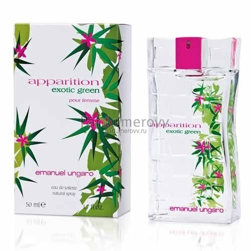 EMANUEL UNGARO APPARITION EXOTIC GREEN edp (w) 50ml