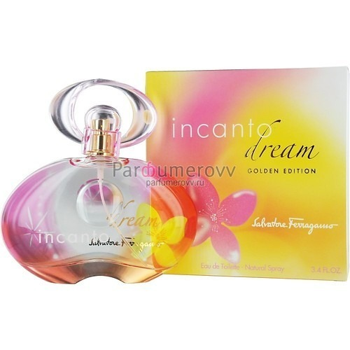 SALVATORE FERRAGAMO INCANTO DREAM GOLDEN EDITION edt (w) 50ml