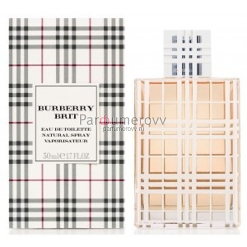 BURBERRY BRIT edt (w) 50ml