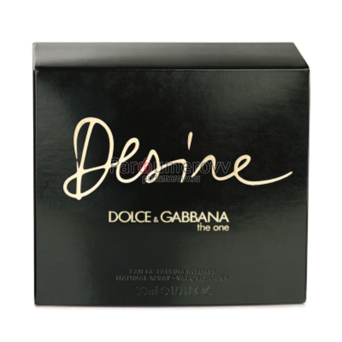 DOLCE & GABBANA THE ONE DESIRE INTENSE edp (w) 30ml