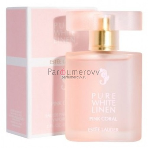 ESTEE LAUDER PURE WHITE LINEN PINK CORAL edp (w) 50ml TESTER