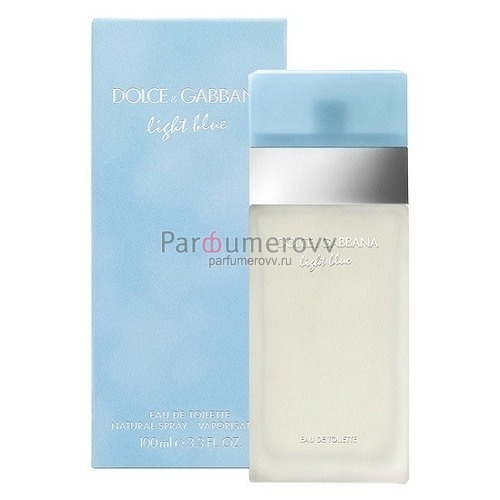 DOLCE & GABBANA LIGHT BLUE (w) 50ml sh/g