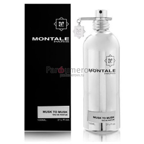 MONTALE MUSK TO MUSK edp 100ml