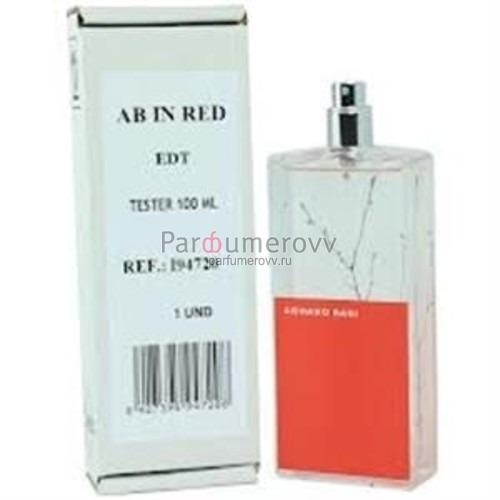 ARMAND BASI IN RED edt (w) 100ml TESTER
