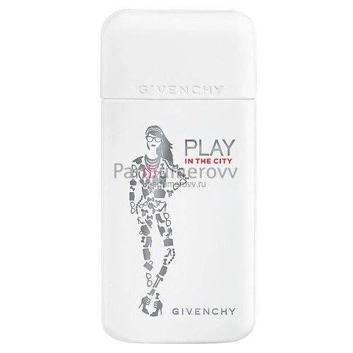 GIVENCHY PLAY IN THE CITY edp (w) 50ml TESTER
