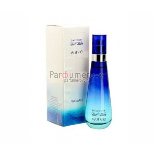 DAVIDOFF COOL WATER WAVE edt (w) 50ml TESTER