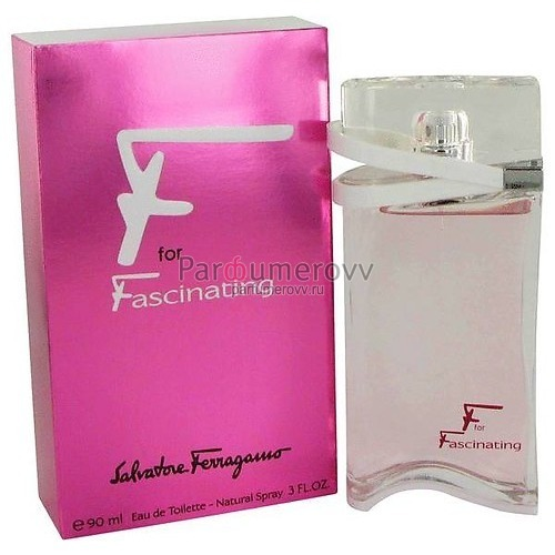 SALVATORE FERRAGAMO F FOR FASCINATING edt (w) 90ml