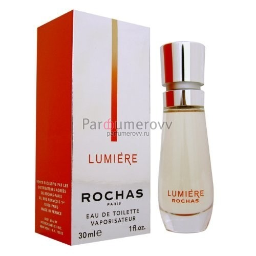 ROCHAS LUMIERE edt (w) 30ml новый дизайн