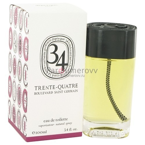 DIPTYQUE 34 BOULEVARD SAINT GERMAIN edt (w) 100ml