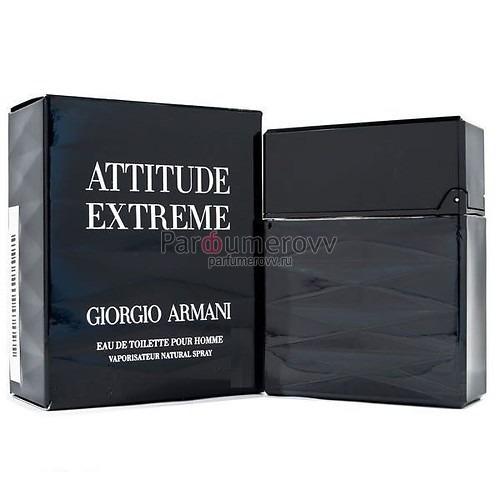 мужская туалетная вода Giorgio Armani Attitude Extreme Edt M 50ml