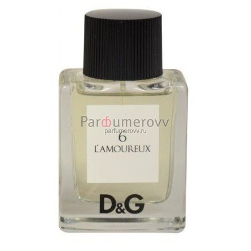 DOLCE & GABBANA №6 L'AMOUREUX edt 50ml TESTER