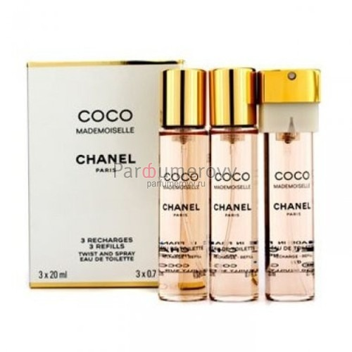 CHANEL COCO MADEMOISELLE edt (w) 3*20ml