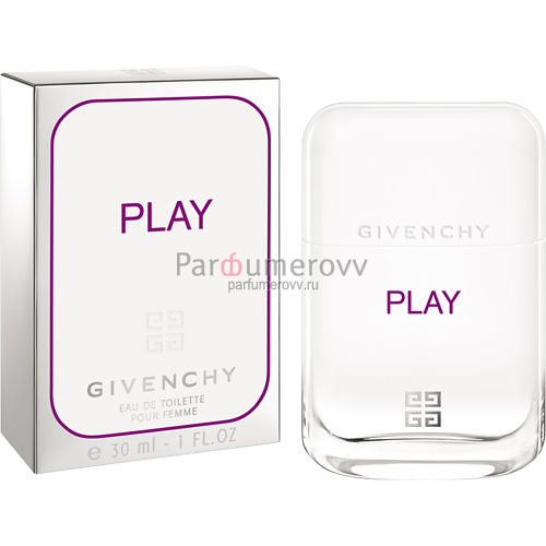 GIVENCHY PLAY FOR HER edt (w) 30ml