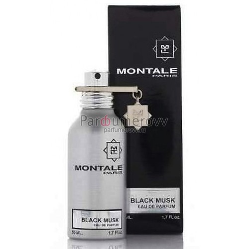 MONTALE BLACK MUSK edp 50ml