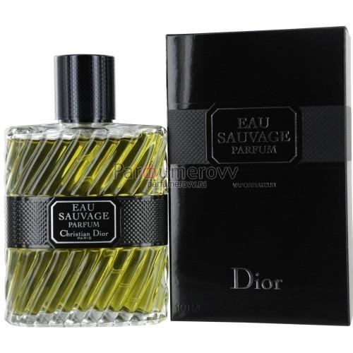 мужская парфюмерная вода Christian Dior Eau Sauvage Parfum Edp M