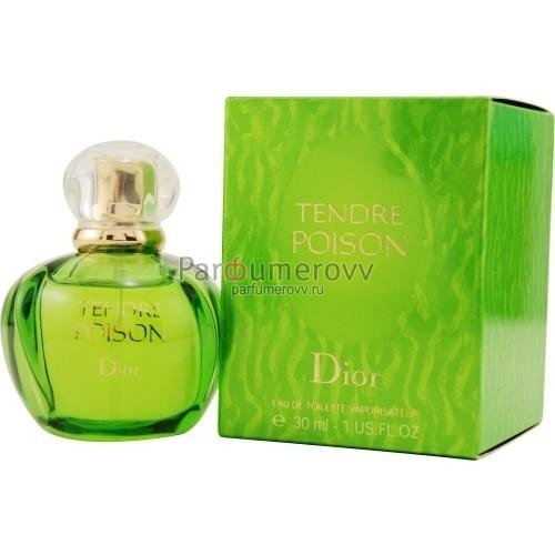 CHRISTIAN DIOR POISON TENDRE edt (w) 30ml новый дизайн