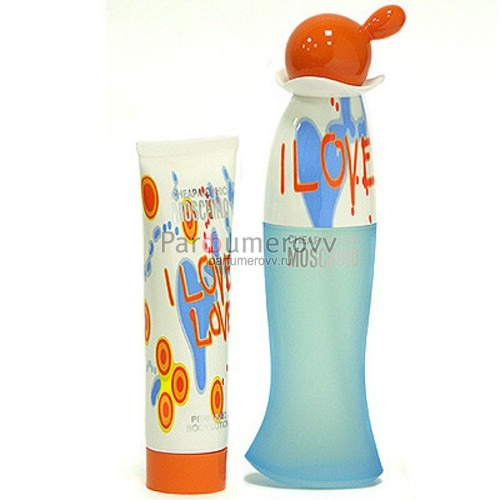 MOSCHINO CC I LOVE LOVE edt (w) 30ml + 50ml b/l