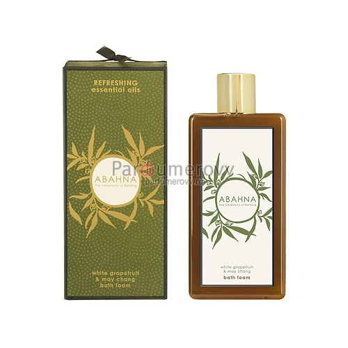 ABAHNA WHITE GRAPEFRUIT & MAY CHANG 500ml bath foam