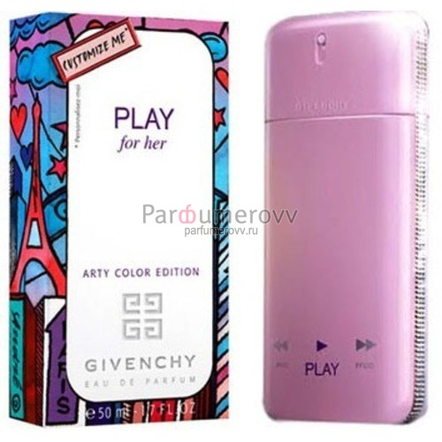 GIVENCHY PLAY ARTY COLOR EDITION edp (w) 50ml