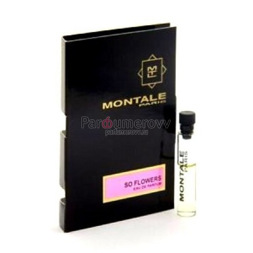 MONTALE SO FLOWERS edp (w) 2ml пробник