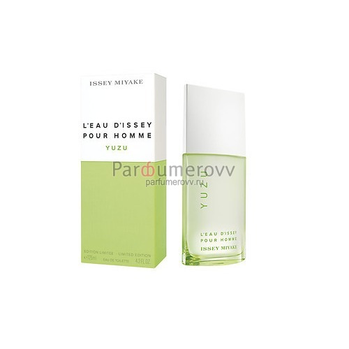 ISSEY MIYAKE L'EAU D'ISSEY POUR HOMME YUZU edt (m) 125ml