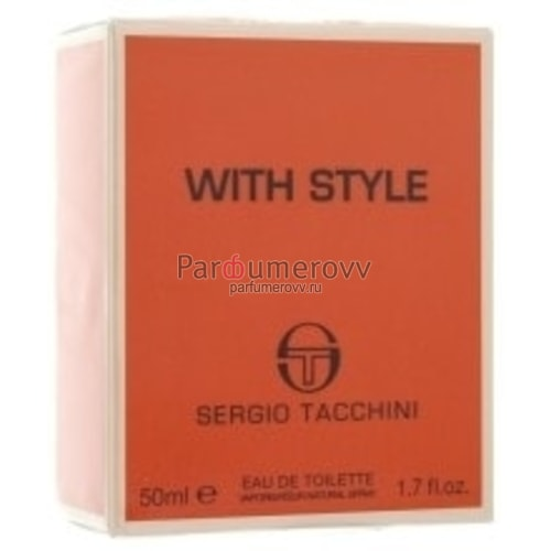 SERGIO TACCHINI WITH STYLE edt (m) 30ml