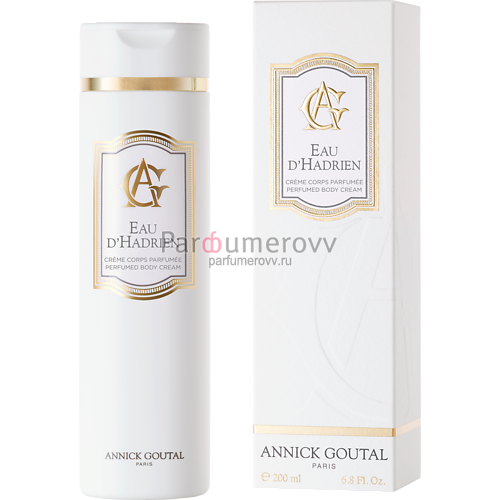 ANNICK GOUTAL EAU D'HADRIEN (w) 200ml body cream