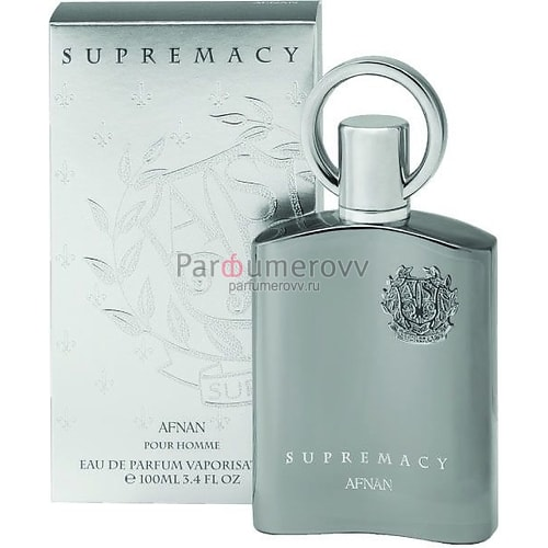 AFNAN SUPREMACY SILVER edp (m) 100ml