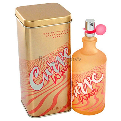 LIZ CLAIBORNE CURVE WAVE edt (w) 100ml