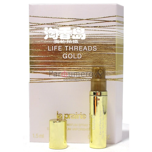 LA PRAIRIE LIFE THREADS GOLD edp (w) 1.5ml пробнк