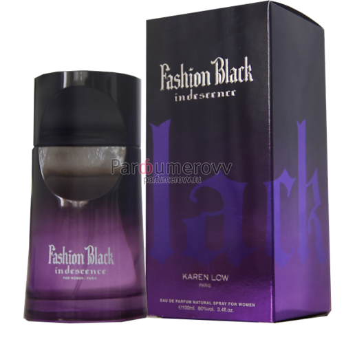 GEPARLYS INDESCENCE FASHION BLACK edp (w) 100ml