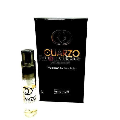 CUARZO THE CIRCLE AMETHYST edp 3ml mini