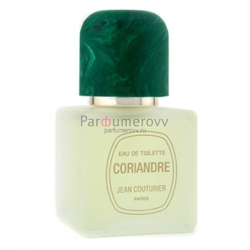 JEAN COUTURIER CORIANDRE edt (w) 50ml TESTER
