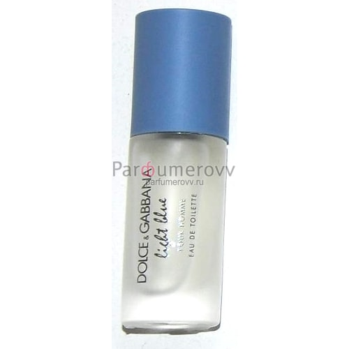 DOLCE & GABBANA LIGHT BLUE edt (m) 8ml mini