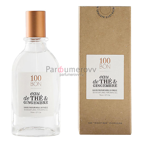 100 BON EAU DE THE & GINGEMBRE edp 50ml