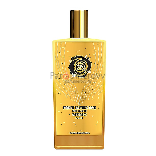 MEMO FRENCH LEATHER ROSE edp 75ml TESTER