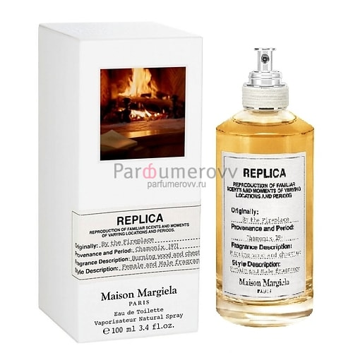 MAISON MARTIN MARGIELA REPLICA BY THE FIREPLACE edt 100ml