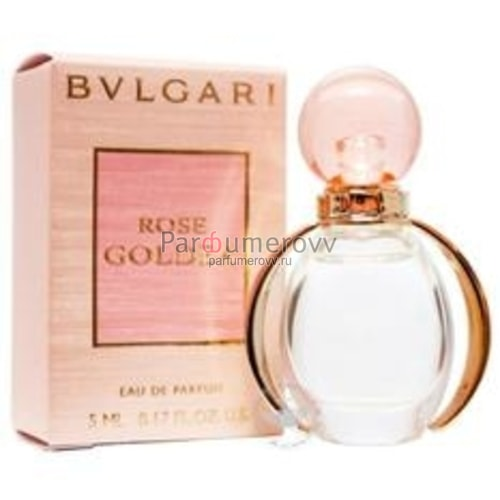 BVLGARI ROSE GOLDEA edp (w) 5ml mini