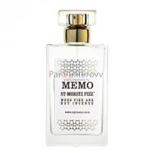MEMO SAINT MORITZ FIZZ 50ml room spray