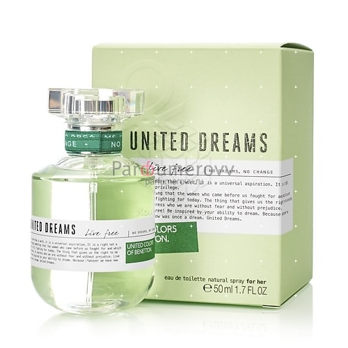 BENETTON UNITED DREAMS LIVE FREE edt (w) 50ml