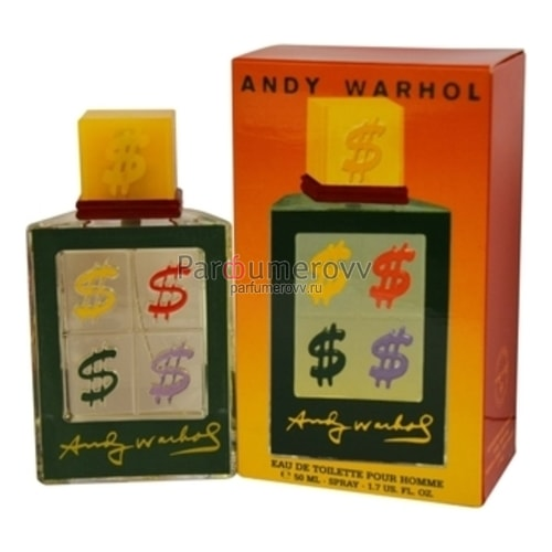 ANDY WARHOL COLLECTION 2000 edt (m) 50ml