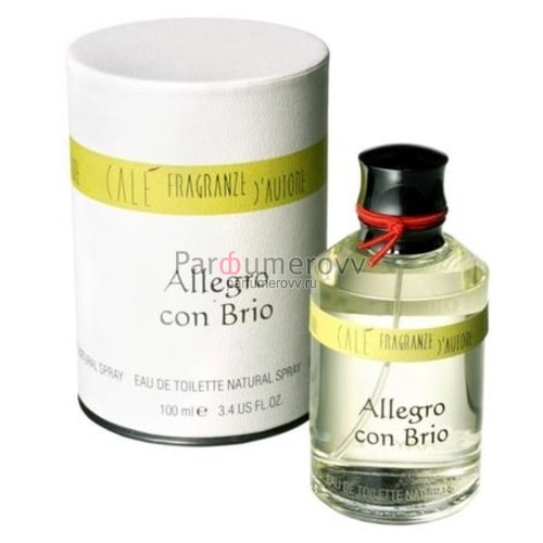 CALE FRAGRANZE D'AUTORE ALLEGRO CON BRIO edt 100ml