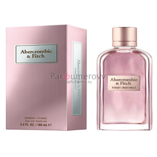 ABERCROMBIE & FITCH FIRST INSTINCT edp (w) 100ml