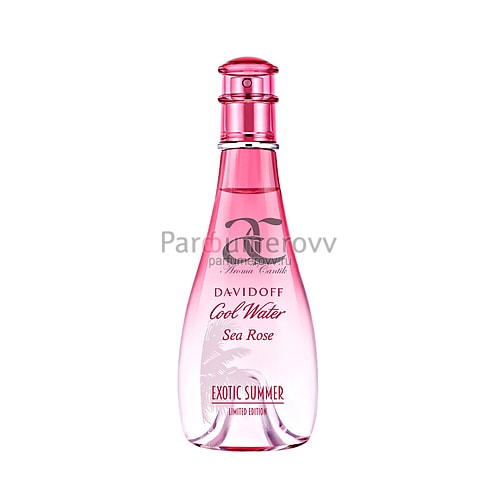 DAVIDOFF COOL WATER SEA ROSE EXOTIC SUMMER edt (w) 100ml TESTER