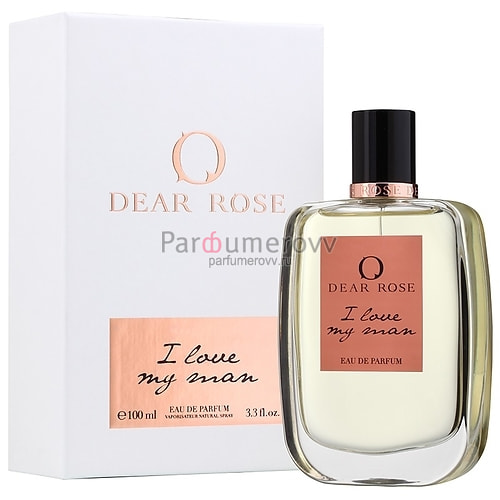 DEAR ROSE I LOVE MY MAN edp (w) 100ml