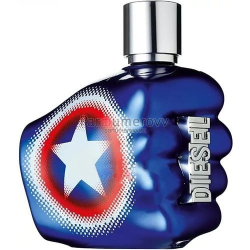 DIESEL ONLY THE BRAVE CAPTAIN AMERICA edt (m) 75ml TESTER