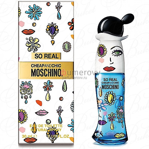MOSCHINO SO REAL CHEAP & CHIC edt (w) 30ml
