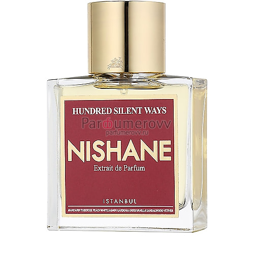 NISHANE HUNDRED SILENT WAYS 50ml parfume TESTER