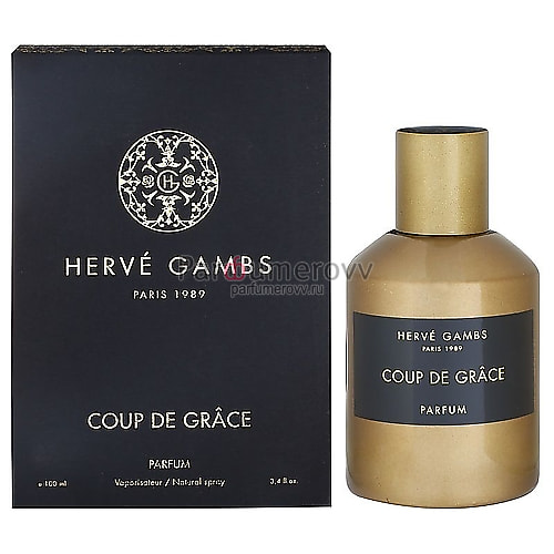 HERVE GAMBS PARIS COUP DE GRACE 100ml parfume