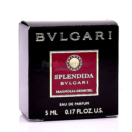 BVLGARI SPLENDIDA MAGNOLIA SENSUEL edp (w) 5ml mini